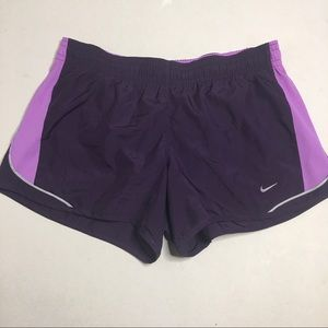 Nike Dri Fit Athletic Running Shorts